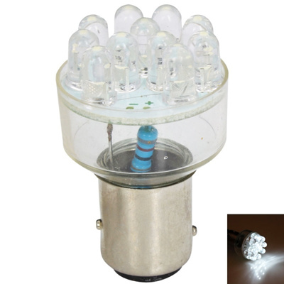 New 10Pcs 1.2W 50lm 6-SMD 1210 LED White Light 29mm Festoon Car Reading Lamp