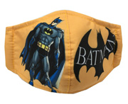 CHILD FACE MASK CLOTH 1 PIECE (REUSABLE) BAT MAN DESIGN