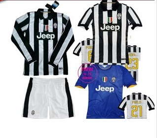 new styles b5d57 e954f Juventus Juventus jersey 14-15 Juventus home shirt-sleeved long-sleeved  long section of the Thai ver