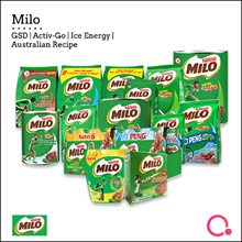 [NESTLE]  Milo® GSD| ACTIV-GO | Australian Recipe and Ice Energy!
