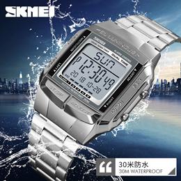 waterproof sports multi-function mens watch waterproof sports business electronic watch