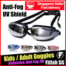 Kids Adult Goggles Reflective Optical Prescription Normal Swimming Degree Goggle Shortsighted Astig