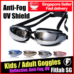 c31189b1f43 Kids Adult Goggles Reflective Optical Prescription Normal Swimming Degree Goggle  Shortsighted Astig