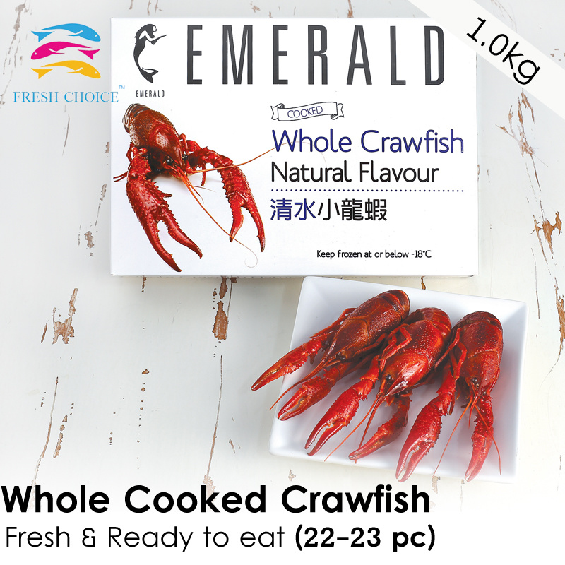 Qoo10 fresh choice emerald whole cooked crawfish ready to show all item images ccuart Images