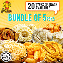 [FOODEE] Foodee Snacks Bundles of 5pkts [Halal]