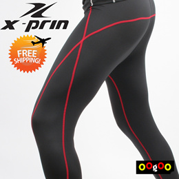 XPRIN Special functional! base layer comression performance short sleeveless T-shirt Tights sportsw