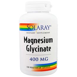 Solaray, Magnesium Glycinate, 400 mg, 120 Veggie Caps