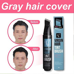 [Made in korea] Virgin Hair Tint Brush gray hair cover / Hair Thickening/hair building fibers