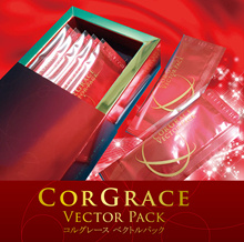 "CORGRACE VECTOR PACK 1box 5g × 5 packs High concentrated oxygen liquid ""WOX"" in cosmetic ingredients"