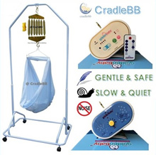 [CradleBB][Golden Baby]Electronic. Electrical Baby Cradle. Yaolan. Motor. Hammock. Spring Cot