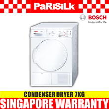Bosch WTE84105GB Condenser Dryer 7KG - Singapore Warranty