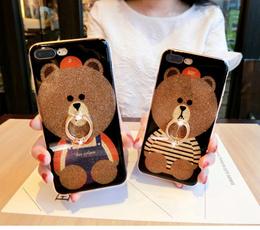 Xiaomi Pocophone F1 Cute Bear Glitter Case  23683