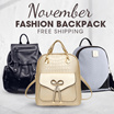 **HOT PROMO**- NEW COLLECTION - TAS-TAS WANITA- Womens Backpack - 12 STYLES - Good Quality - Free Shipping Jabodetabek
