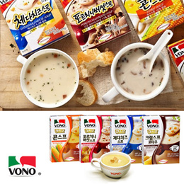 VONO Soup 1 Box 3p/ Drinking soup in mugs/ 15 seconds completed/ Natural Ingredients Soup/ Fast Soup