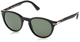 Persol PO3152S Sunglasses 901431-49 - Black Frame, Green
