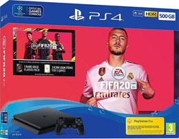 PS4 PlayStation 4 Slim FIFA 20 Bundle Pack // Released on 27th September 2019