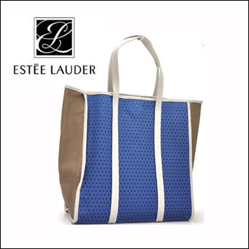 Estee Lauder Blue Tote Bag Limited Large Capacity