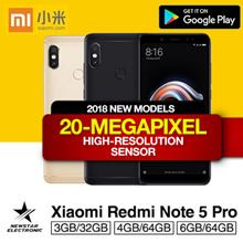 Xiaomi Redmi Note 5 Pro High Edition 6GB/64GB * 4GB/64GB * 3GB/32GB | With Google Playstore |Export