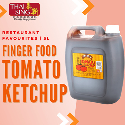 Meico Finger Food Tomato Ketchup - 5L