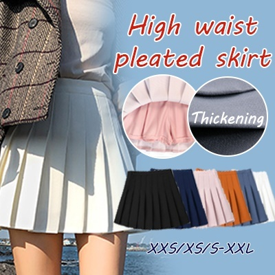 8ad0be7d7  BUY 2 FREE SHIPPING skirt Pleated skirt High waist pleated skirt female  autumn and winter 2018 new summer Harajuku skirt