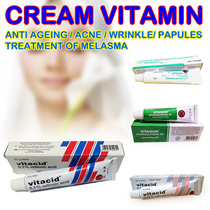 Vitacid 01% Skincare Cream for Antiaging Acne Wrinkles Blemishes