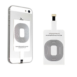Portable Qi Standard Smart Wireless Charging Coil Receiver For iPhone 5/5C/5S 6