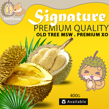 *MAO SHAN WANG/XO DURIANS 400g* DURIAN SEASON! [FRESH STOCK DAILY]