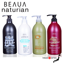 Bundle of 2 x 1000ml - BEAUA Naturian Body Wash Series [Made in Japan]