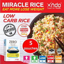 Xndo Zero Rice (5 Pouches)