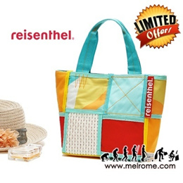 [ melrome.com ] Reisenthel Waveshopper XS Patchwork Shopping Bag Women Handbag