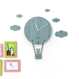 coupon swing creative cartoon wall clock clock mute children bedroom living room minimalist personality cut