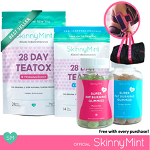 [SkinnyMint Official] Detox Bundle with Freebies