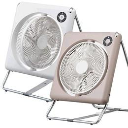 DOSHISHA 도시샤 접이식 선풍기 폴딩팬 FLT-254D (브라운/화이트 택1) / 프리볼트 / 무료배송 / 수납이 간편한 접이식 선풍기