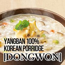 [DONGWON] YANGBAN 100% KOREAN PORRIDGE  Abalone/ Beef/ Tuna/ Vegetable/ Chestnut Red-bean