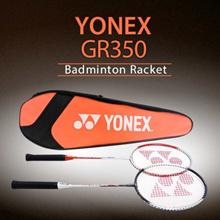 Yonex LCH store Korean Best-Selling Badminton 2 x GR350 Rackets + a Full Cover Case