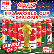 FIFA World Cup Designs Coca Cola Coke Classic x 48 Cans (320ml/Can) Russia 2018 (Expiry: April 2019)
