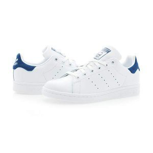 buy online 2e7c4 98805 [ADIDAS] Stan Smith white / blue BZ 0483 _ snakeers / running shoes