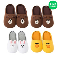 [LINE FRIENDS] LINE FRIENDS INDOOR SLIPPER