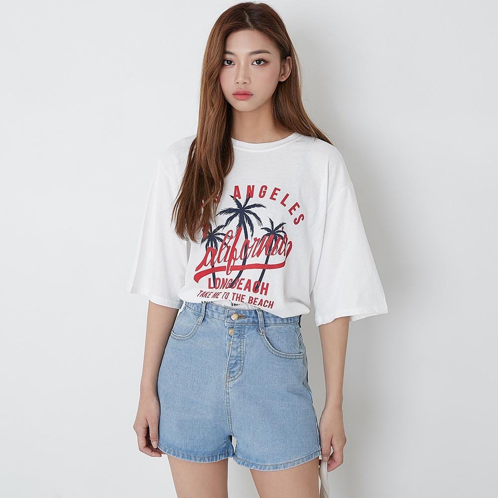 [ROCOSIX官方旗艦店] 椰果樹短袖T恤