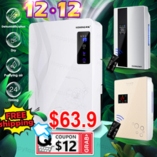 ⚡FREE SHIP⚡2.2L Smart Dehumidifier Air Purifier Intelligent Humidistat Touch Panel Remote Control