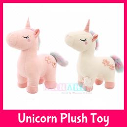 Unicorn Pony Soft Plush Toy★Pillow Bolster★Kids Children Gift Birthday Xmas Girls GF