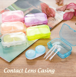 [SG Local Fast Delivery] Contact Lens Casing ★ Light and Portable Storage Case for Travel!