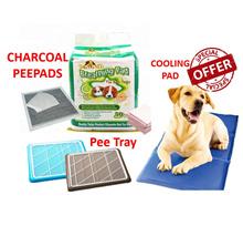 Pets Cooling mat/Anti-Smell Natural Charcoal Bamboo Pee Pad / Pets Toilet pee tray/pee pad /pet bed