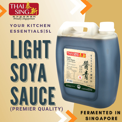 PREMIER Light Soya Sauce - 5L
