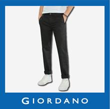 Men Modern Tapered Khaki Pants