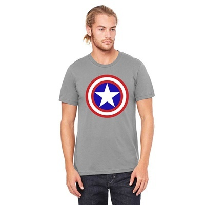 CAPTAIN AMERICA GREY