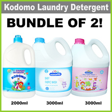[KODOMO]Baby Fabric Wash 3000mlX2★SPECIALLY FOR WASHING BABY LAUNDRY