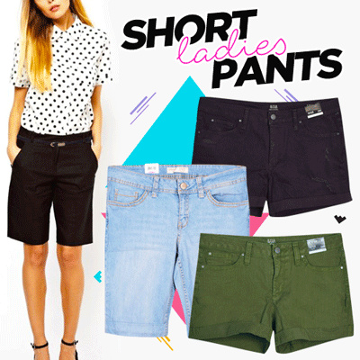 New Arrival ! Twill Ladies Short Pants - 3 Color - Good Quality - Best  Seller 2d6f7e48a8