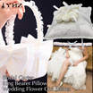 Flower Girl Basket Wedding Ring Pillow Ring Bearer Pillow Bridal Garter Wedding Party Decor
