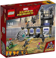 LEGO 76103 Marvel Super Heroes: Corvus Glaive Thresher Attack